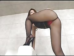 asians in high heels - forced anal sex